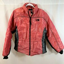 Vtg The North Face 600 Coat Jacket Goose Down Red Womens Xl X-Large Puffer Parka
