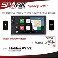 WIRELESS CARPLAY ANDROID AUTO BLUETOOTH USB RADIO FOR HOLDEN VY VZ COMMODORE AD