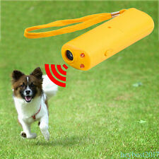 Anti Bark Device Dog Training Repeller Ultrasonic Anti Bark Stop Barking Tool CF