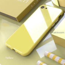 Ultra Slim 360° Magnetic Adsorption Bumper Glass Case Cover For iPhone X 6S 7 8