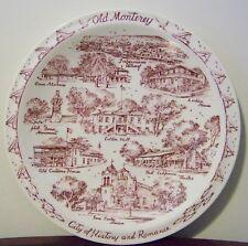Old Monterey Plate California Vernon Kilns VTG Zarkin House San Carlos Mission