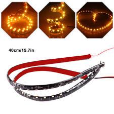 2x 40CM Car 12V 30LED SMD Side-emitting Flexible LED Strip Light Auto Decoration