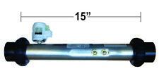 "Balboa Hot Tub Spa Heater , Flo Thru, 15"" x 2"", 4.0 kW W/PS - 50067"