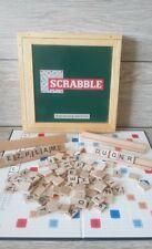 Scrabble Nostalgia Edition Tinderbox Games 10112 Wooden Box Rare Classic Game