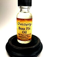BOSS FIX CONJURE OIL: Raise, Promotion, Influence, Hoodoo, Wicca, Pagan, Voodoo
