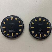 28.5MM Luminous Watch Dial for NH35 NH36 Mingzhu 2813 Automatic Watch Movement