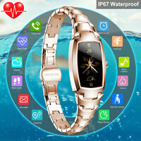 Waterproof Smart Watch ECG Blood Pressure Heart Rate Monitor for iOS Android