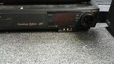 Panasonic AG-1980 S-VHS SVHS Super VHS Player Recorder Deck PRO Editing VCR