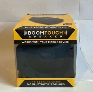 BoomTouch Wireless Touch Portable Speaker - Black By APG New no wires etc