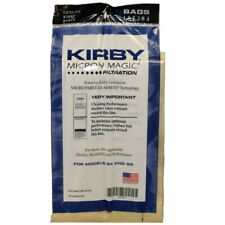 9 bags Genuine Kirby Micron Magic Vacuum Bags for Models G4 and G5 #197394