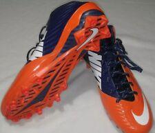 Nike Vapor Men's Size 12.5 Speed Football Cleats Navy Blue Orange New