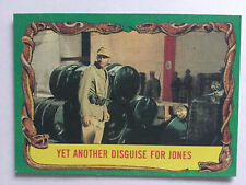 Indiana Jones Raiders Of The Lost Ark Topps 1981 Card 76 Yet Another Disguise