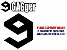 "9GAGger 9GAG Graphic Die Cut decal sticker Car Truck Boat Window Laptop 7"""