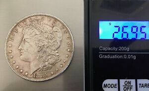 USA UNITED STATES MORGAN DOLLAR $1 1885 SILVER COIN ESTATE CLEARED FIND