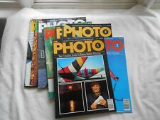 THE PHOTO  Magazine LOT OF 9 MAGAZINES-1983--#1-2-3-4-5-6-10-11-13
