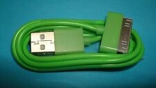 "39"" Long GREEN 30-PIN USB SYNC DATA CHARGER DOCK CABLE IPHONE 4S IPOD TOUCH IPAD"
