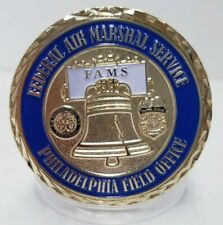 FAMS Federal Air Marshal Service Philadelphia Homland Security Challenge Coin
