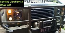 Landrover Perentie & Series I II II LED 105W  Lights with DRL and Turn PAIR