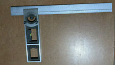 """Bevel Protractor - Double Square Head 18"""" (450mm), English/Metric."""
