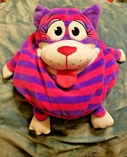"Tummy Stuffers Wild Ones Striped Cat Pink Purple 12"" Jay at Play Stuffed Toy"
