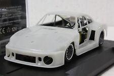 SIDEWAYS SWK/77 PORSCHE 935/77 WHITE KIT GROUP 5 CAR NEW 1/32 SLOT CAR