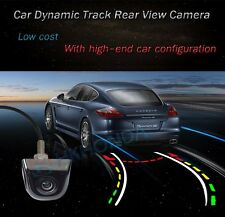 Wired Rear Tailgate Dynamic Trajectory Rearview Car Camera Moving Guidelines