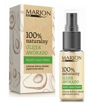 MARION 100% NATURAL AVOCADO OIL FOR HAIR FACE BODY COLOUR PROTECTION & FIRMING