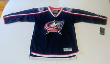 Columbus Blue Jackets Boy's Jersey New With Tags L/XL