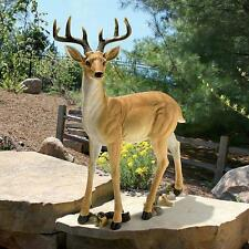 Majestic Stag Buck Forest Garden Large Scale Male Deer Wildlife Yard Statue