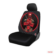 New Marvel Comics Deadpool Repeater Car Truck Front Seat Cover by Plasticolor