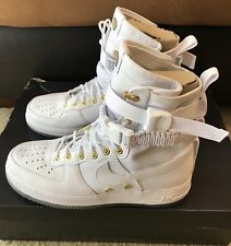 Nike SF AF1 LNY QS Lunar New Year Chinese Men's sz 11 White Gold AO9385 100