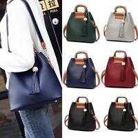 2019 Women Leather Shoulder Bag Handbag Tote Purse Messenger Satchel Cross Body