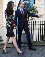 Tod's Fringe Black Suede Pumps size 9.5 US 40.5EU ASO Kate Middleton in Burgundy