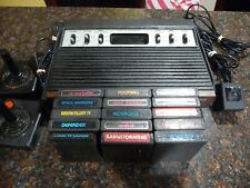 Sears Telegames ATARI 2600 Sixer Console + 15 Games Bundle