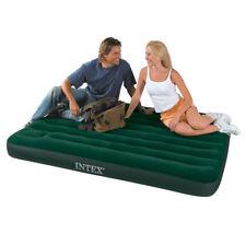 Camping Luftbett Gästebett 191x137x22cm mit integrierter Fusspumpe von INTEX