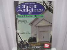 Chet Atkins Plays Back Home Hymns Sheet Music Song Book Guitar Tab Tablature