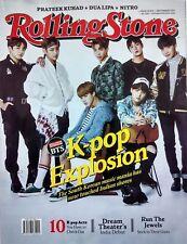 Rolling Stone India Sep 2017 K-Pop BTS Radiohead Chester Bennington Nitro Julia