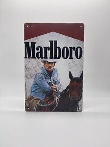 Blechschild Marlboro 20x30cm Nostalgie Retro Reklame Vintage Deko Zigaretten