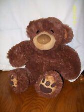 "AROMA HOME Brown Teddy Bear Plush Heat Pillow Warmer Bedtime Aromatherapy 16"""