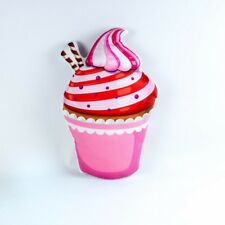 Cupcake Strawberry & Cream Kissen