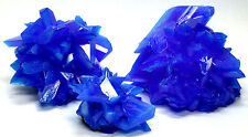 Excellent - TOP Luster Electric Blue CHALCANTHITE on MATRIX