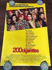 200 CIGARETTES 27X40 DS MOVIE POSTER ONE SHEET NEW AUTHENTIC