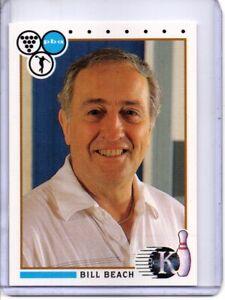 1990 PBA BOWLING CARD #82 BILL BEACH