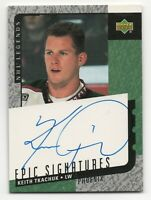 2000-01 UD Signs of Greatness #SKT Keith Tkachuk Phoenix Coyotes Auto SP/250