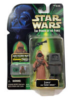 Star Wars Power of the Force Jawa and Gonk Droid COMMTECH Figure Hasbro 1999 New