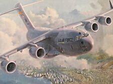 "C-17 Globemaster III ""Waikiki Sunrise"" by Keith Ferris"
