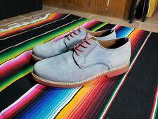 Aldo Blue Suede Shoes Size 9.5