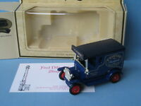 Lledo Fred Dibnah Ford Model T Van Rare Boxed with Certificate 70mm Long SP6
