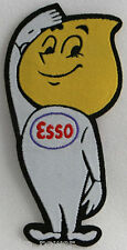 Esso Gas Man Woven Patch, Iron on, motorcycles, scooters, automobiles, racing