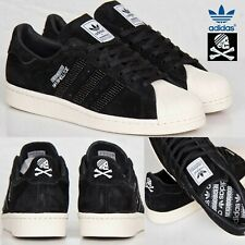ADIDAS MENS ORIGINALS SHOES SUPERSTAR NEIGHBORHOOD BLACK LEATHER LIMITED M25785